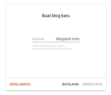 Cara Membuat Blog Profesional Dan Pengaturannya