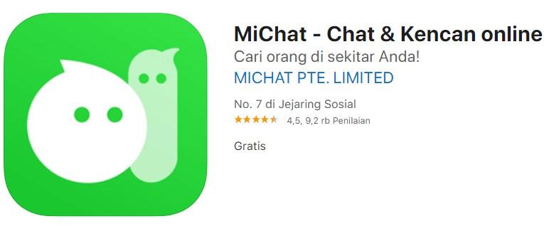 Aplikasi MiChat (Chat dan Kencan Online)